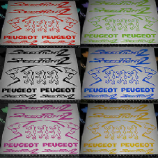 Peugeot speedfight 2 Decals/Stickers